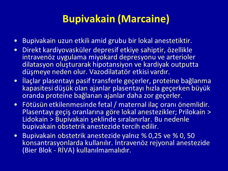 Bupivakain (Marcaine)