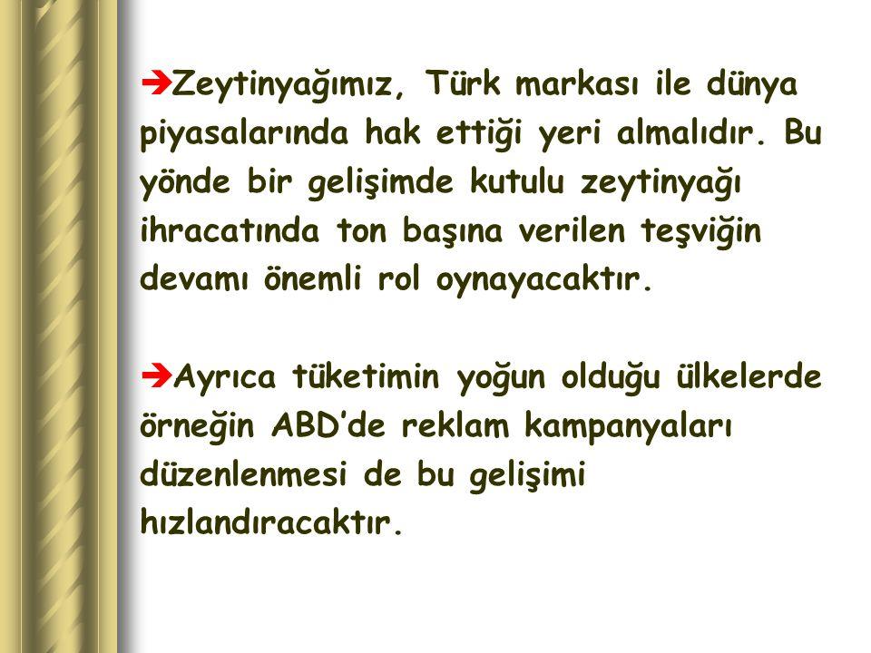Zeytinyağımız, Türk markası ile dünya
