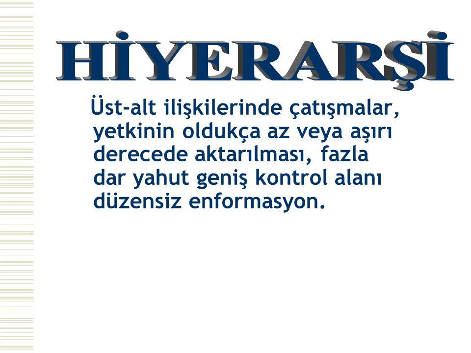 HİYERARŞİ