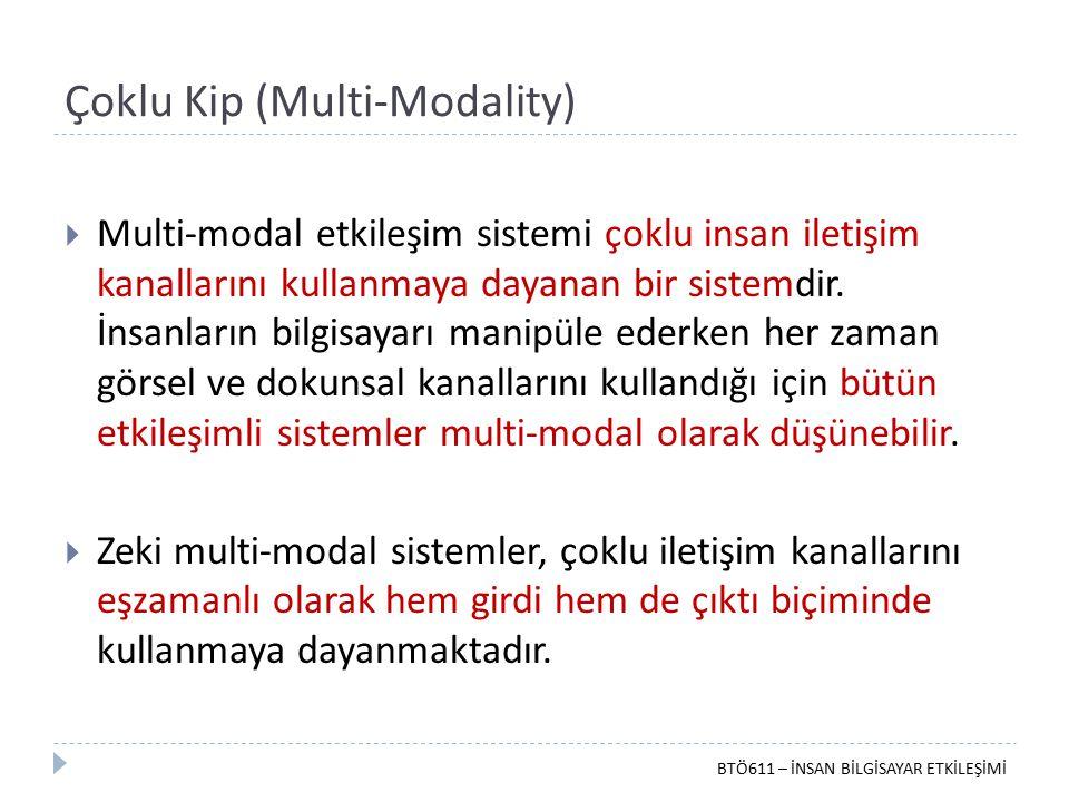 Çoklu Kip (Multi-Modality)