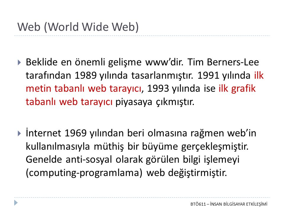 Web (World Wide Web)