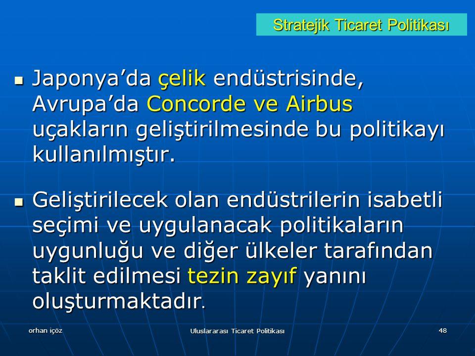 Stratejik Ticaret Politikası