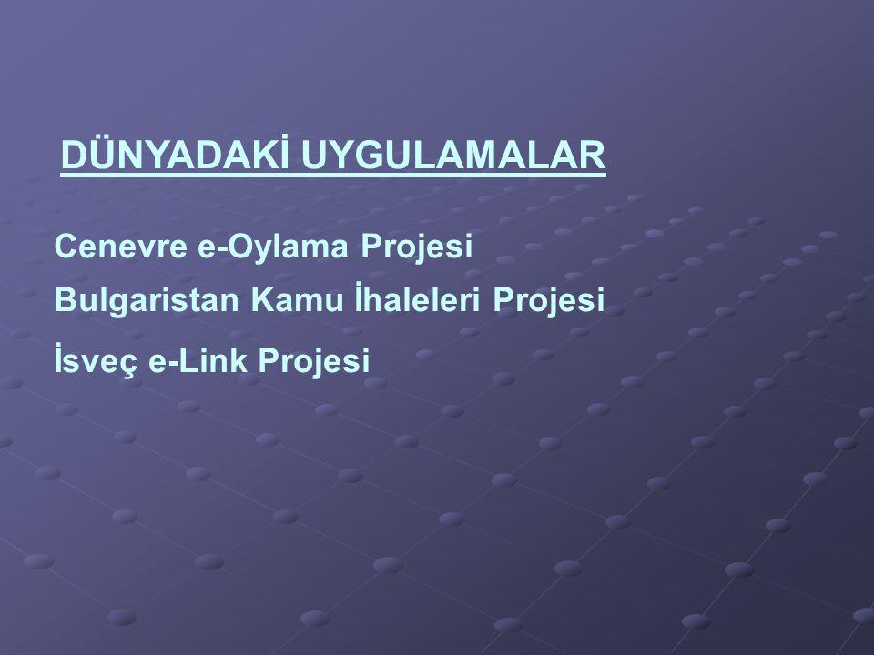 Cenevre e-Oylama Projesi Bulgaristan Kamu İhaleleri Projesi