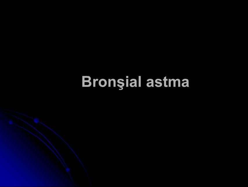 Bronşial astma