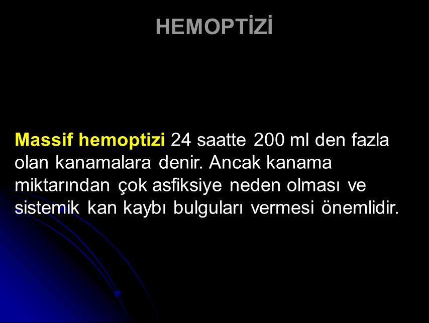 HEMOPTİZİ