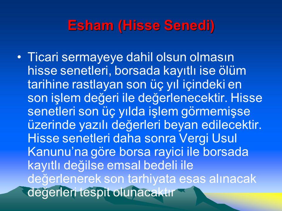 Esham (Hisse Senedi)