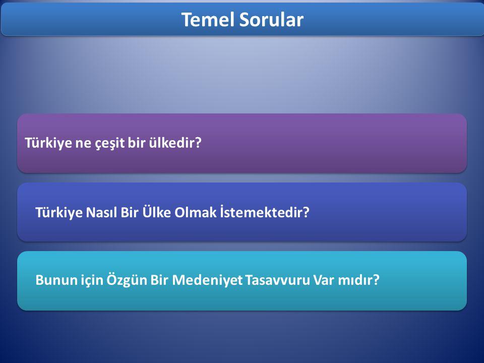 Temel Sorular Türkiye ne çeşit bir ülkedir