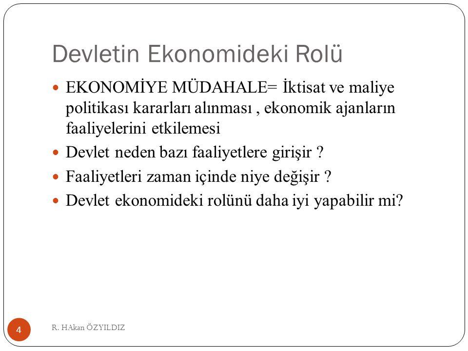 Devletin Ekonomideki Rolü