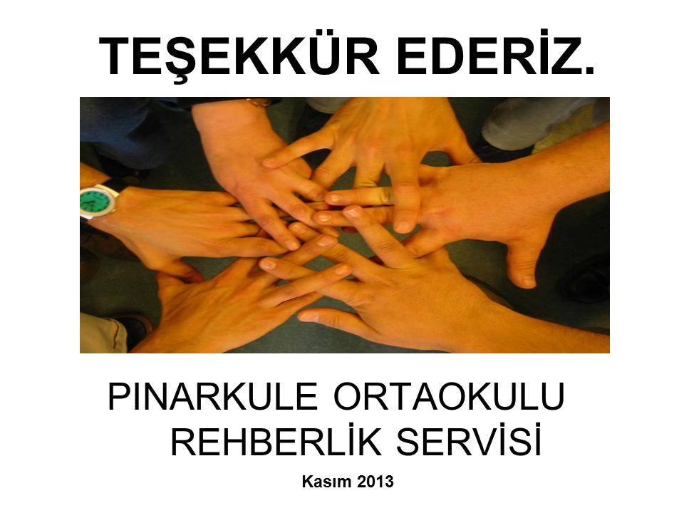 PINARKULE ORTAOKULU REHBERLİK SERVİSİ