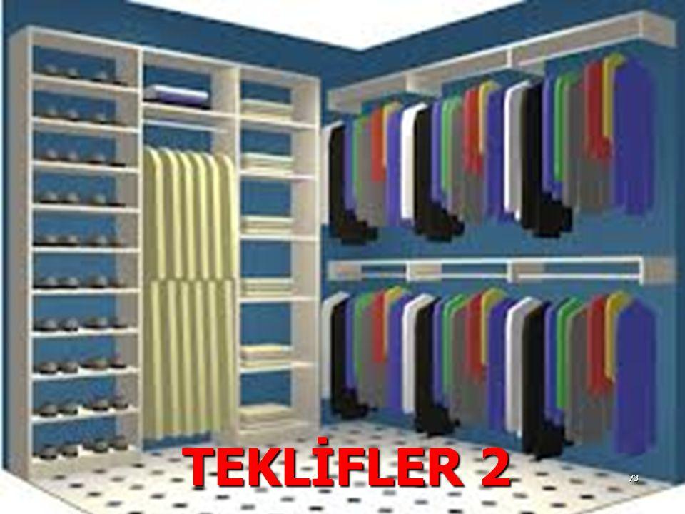 TEKLİFLER 2