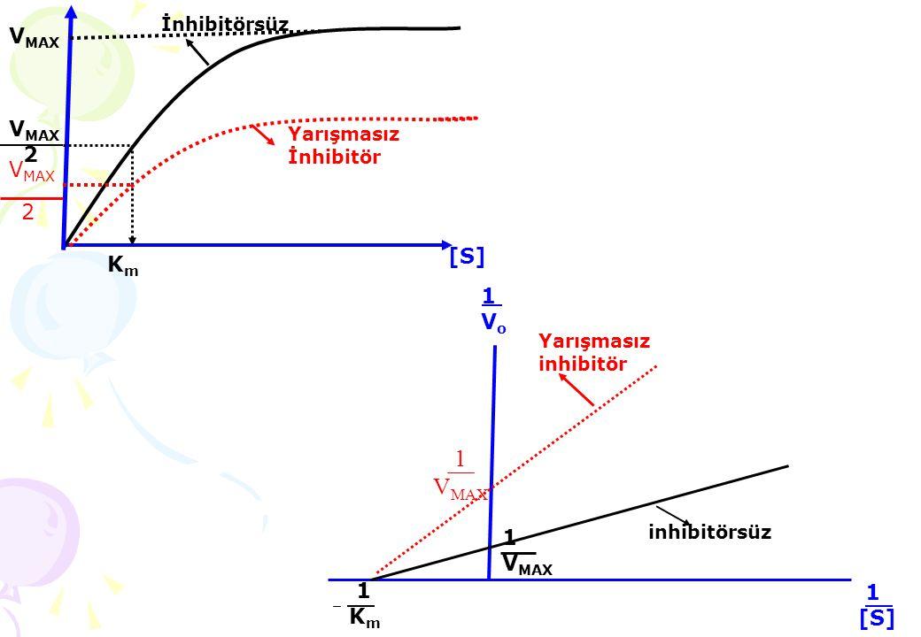 pH değişikliklerinin enzimatik aktivite üzerindeki etkileri aşağıdaki