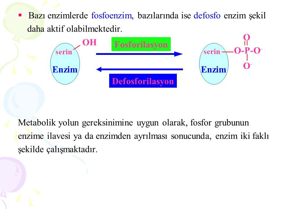 Enzimlerin inhibisyonu;