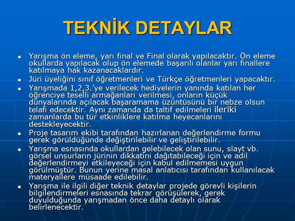 TEKNİK DETAYLAR