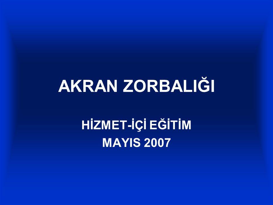HİZMET-İÇİ EĞİTİM MAYIS 2007