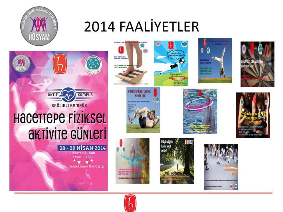 2014 FAALİYETLER