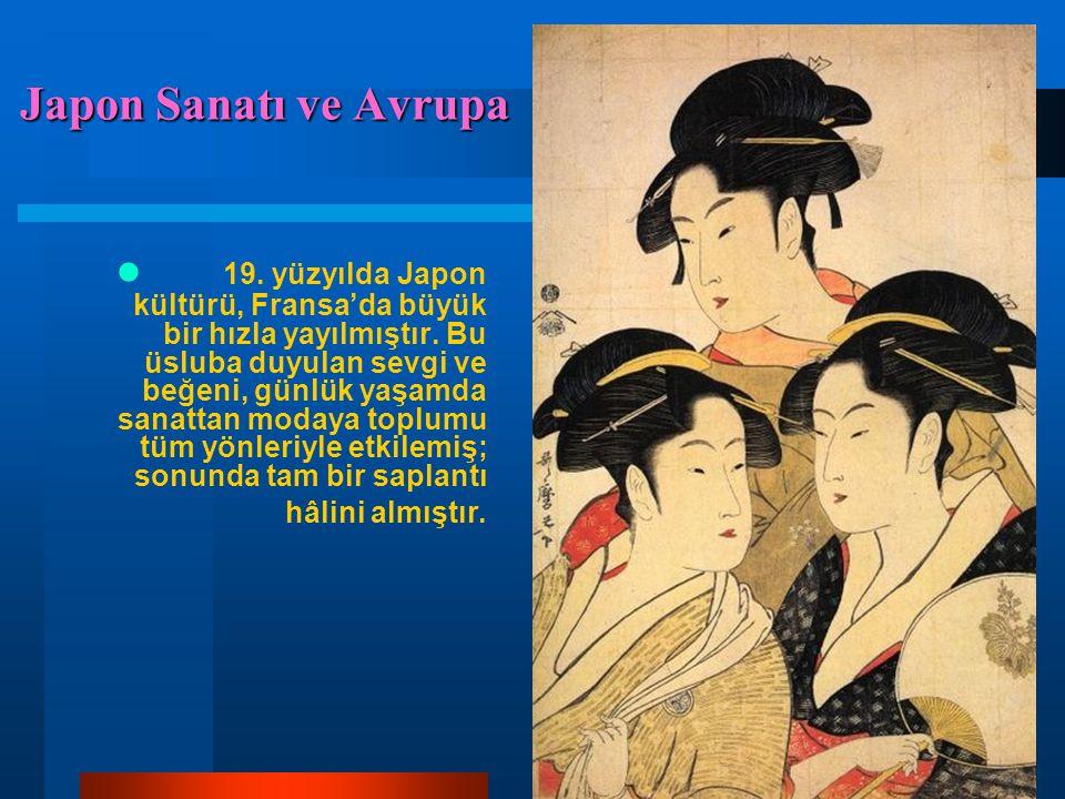 Japon Sanatı ve Avrupa