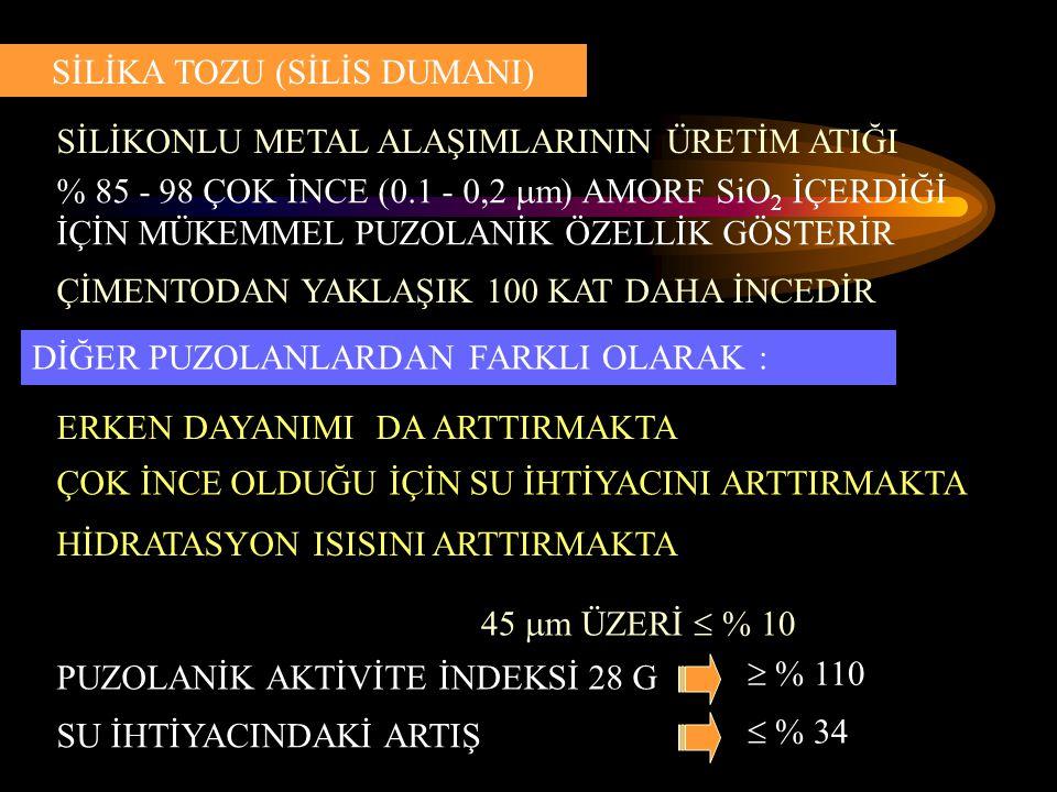 SİLİKA TOZU (SİLİS DUMANI)