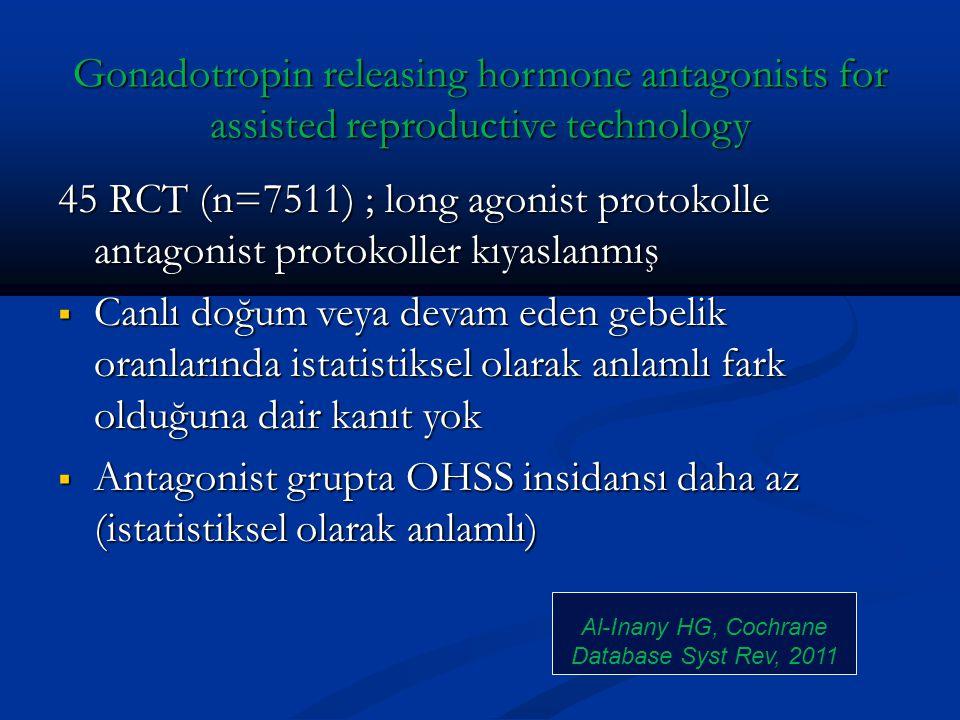 Al-Inany HG, Cochrane Database Syst Rev, 2011
