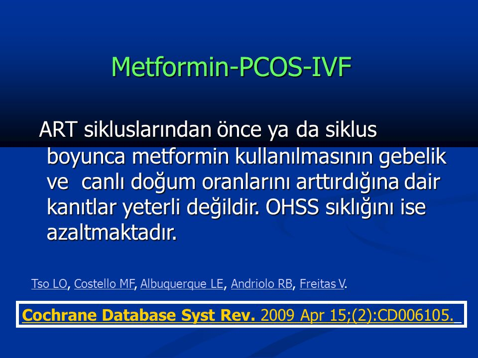 Metformin-PCOS-IVF