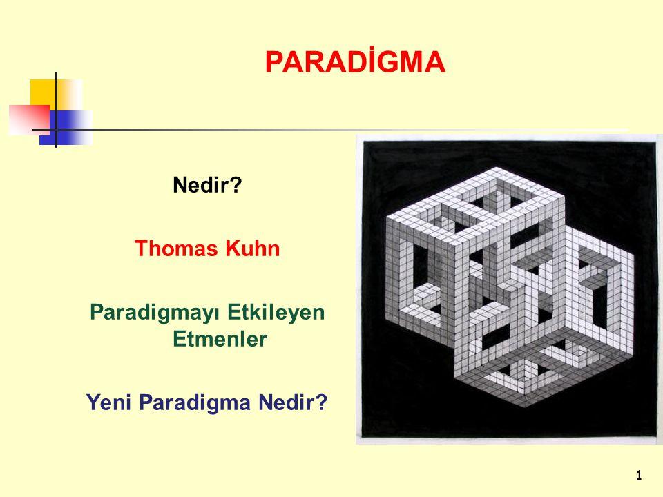 Paradigmayı Etkileyen Etmenler