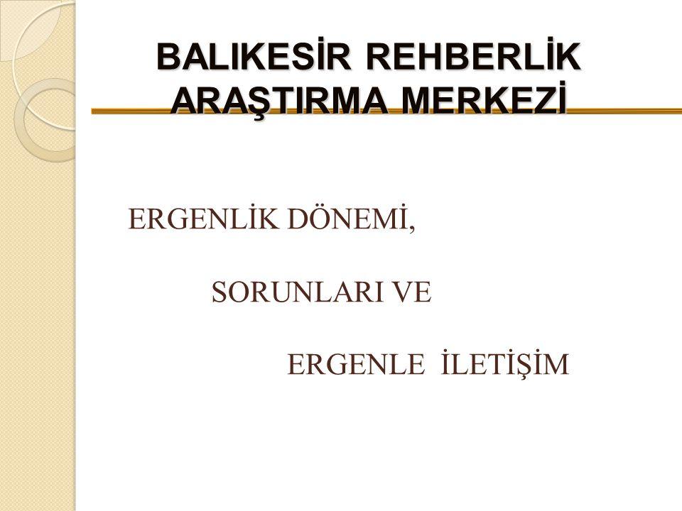 BALIKESİR REHBERLİK ARAŞTIRMA MERKEZİ