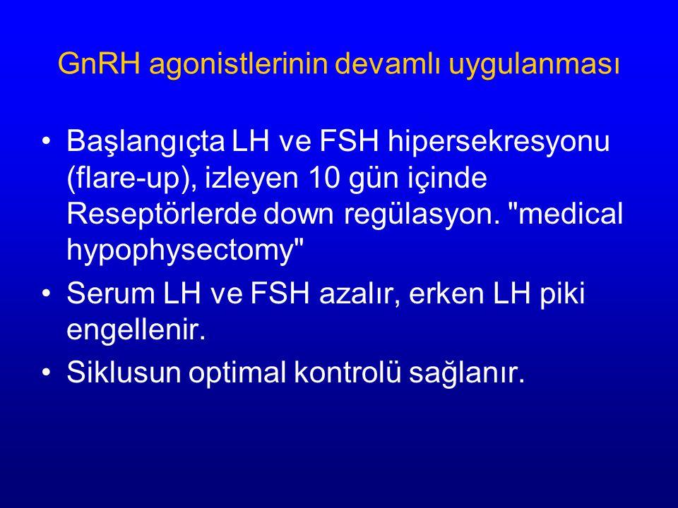 GnRH agonistlerinin devamlı uygulanması