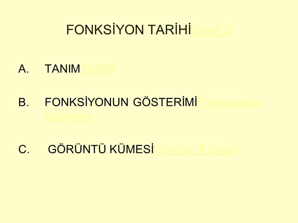 FONKSİYON TARİHİSlayt 3