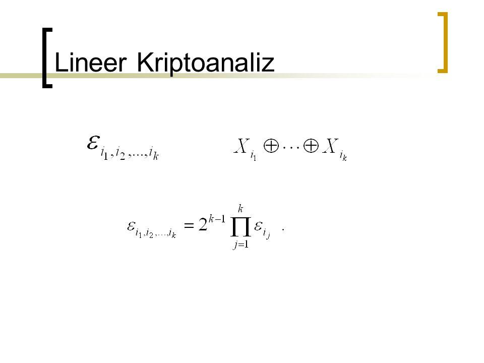 Lineer Kriptoanaliz
