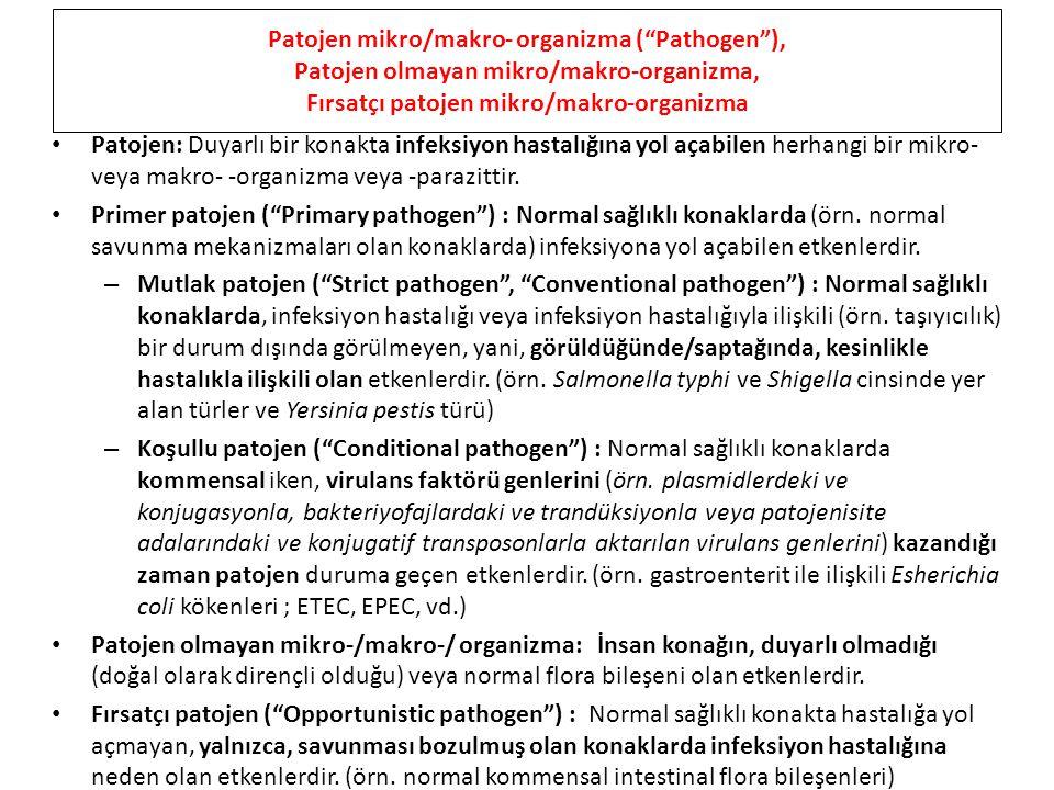 Patojen mikro/makro- organizma ( Pathogen ),