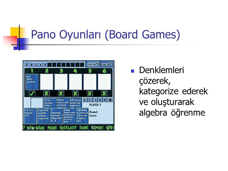 Pano Oyunları (Board Games)