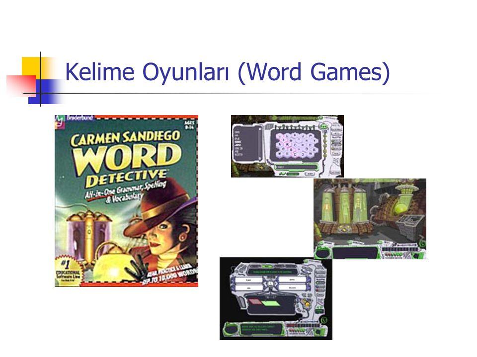 Kelime Oyunları (Word Games)