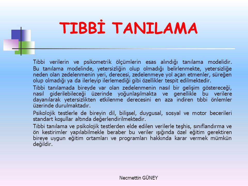 TIBBİ TANILAMA