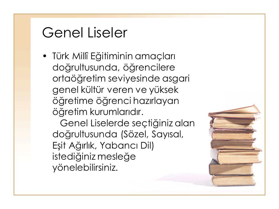 Genel Liseler