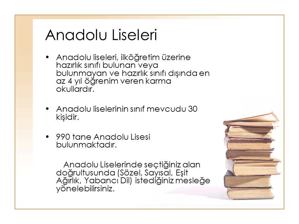Anadolu Liseleri
