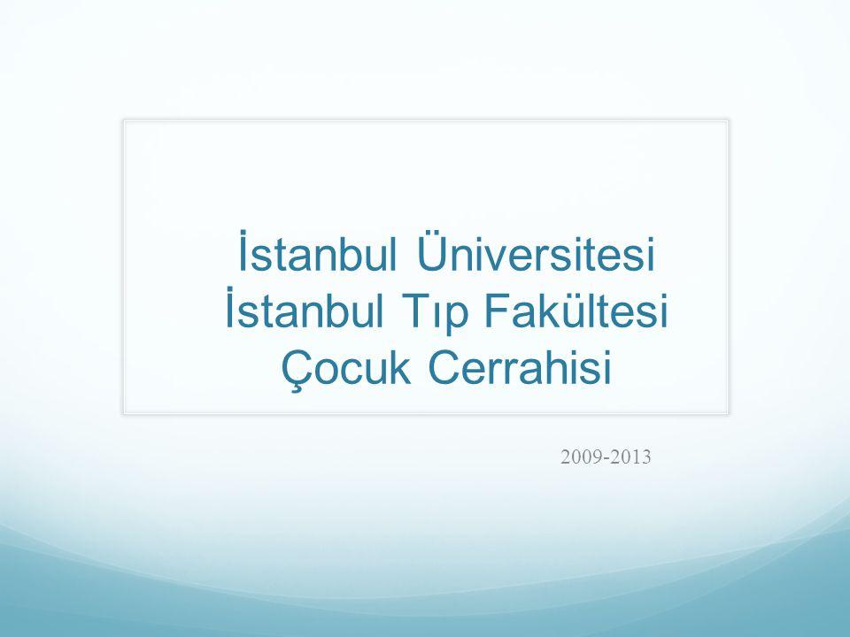 İstanbul Üniversitesi İstanbul Tıp Fakültesi Çocuk Cerrahisi