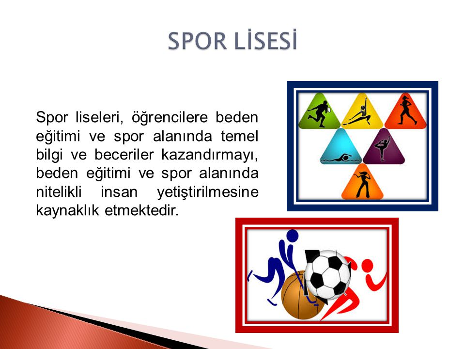SPOR LİSESİ