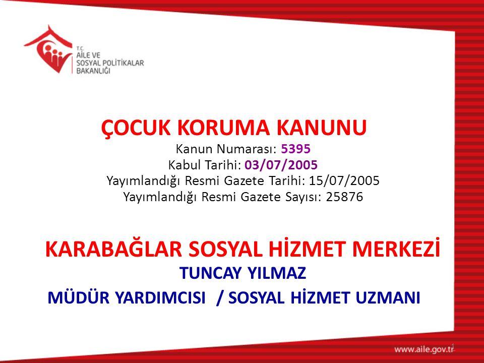 MÜDÜR YARDIMCISI / SOSYAL HİZMET UZMANI