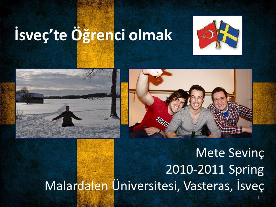 İsveç'te Öğrenci olmak