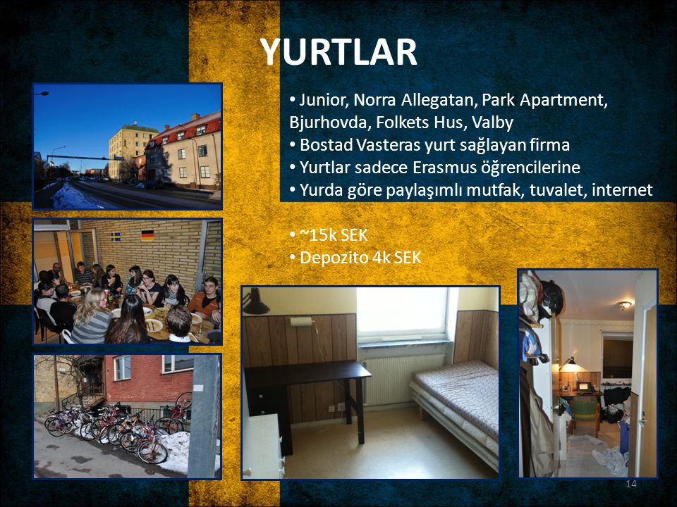 YURTLAR Junior, Norra Allegatan, Park Apartment, Bjurhovda, Folkets Hus, Valby. Bostad Vasteras yurt sağlayan firma.