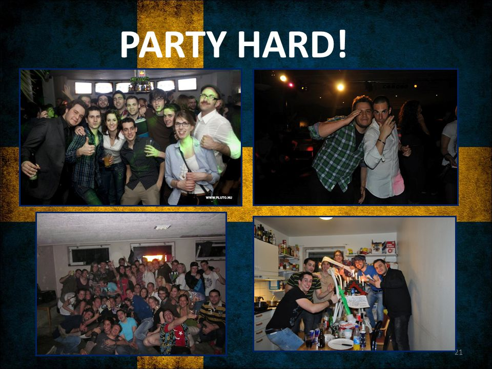 PARTY HARD!