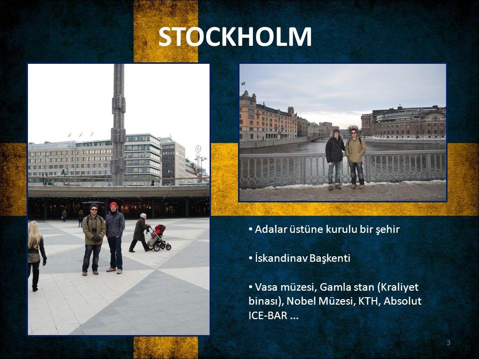 STOCKHOLM Adalar üstüne kurulu bir şehir İskandinav Başkenti