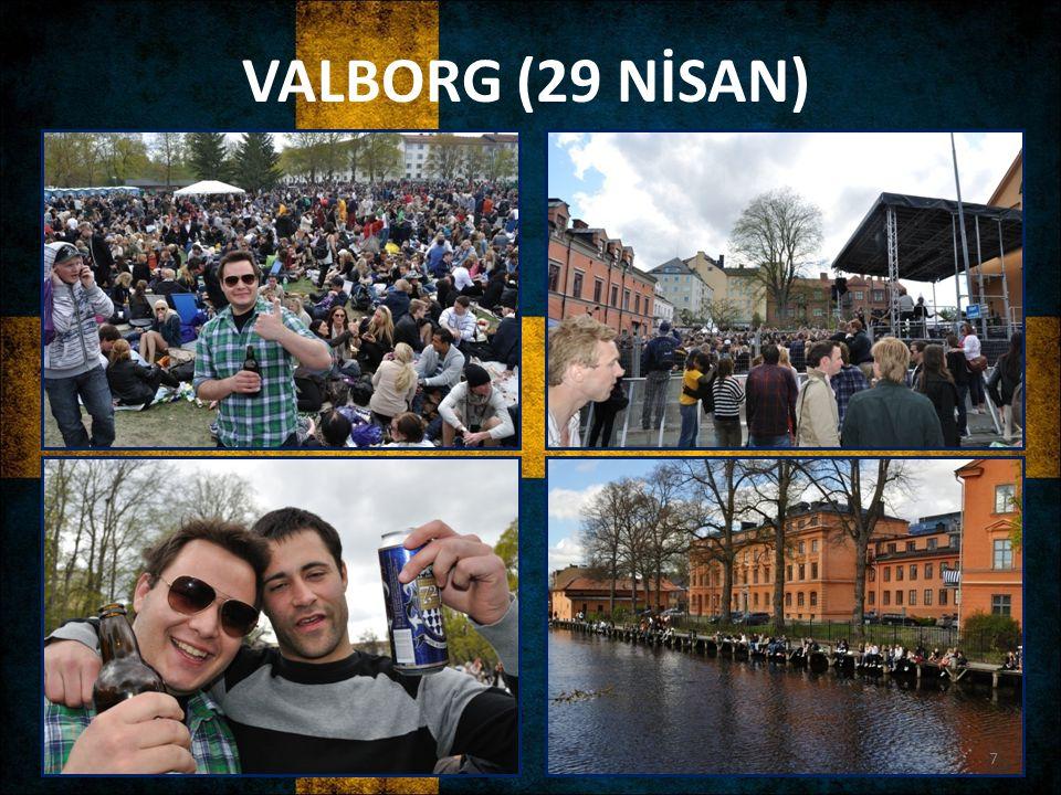 VALBORG (29 NİSAN)