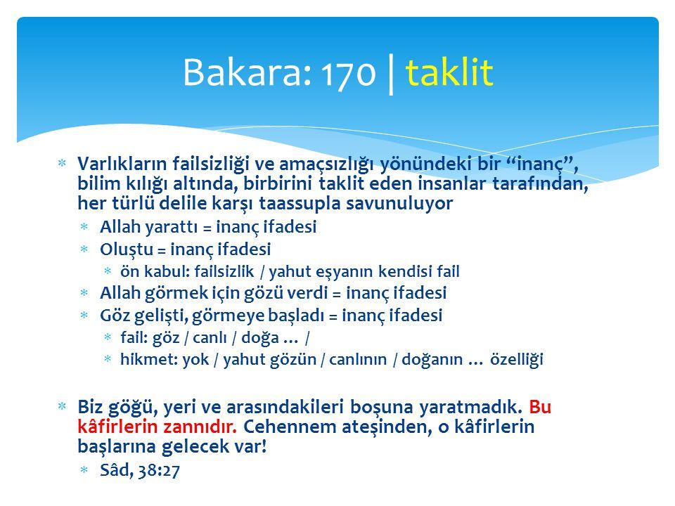 Bakara: 170 | taklit