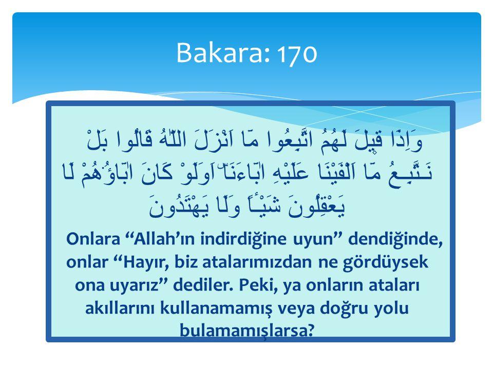 Bakara: 170