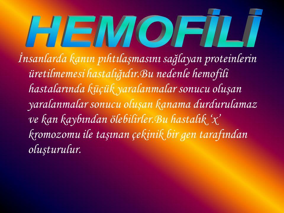 HEMOFİLİ