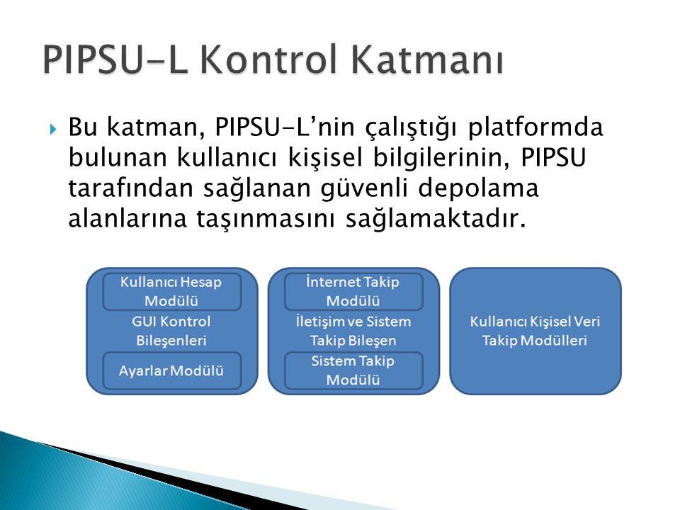PIPSU-L Kontrol Katmanı
