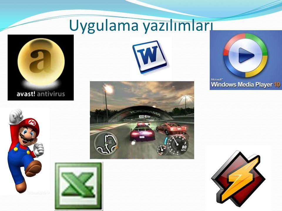 Uygulama yazılımları