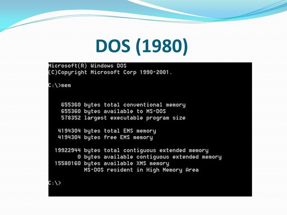 DOS (1980)
