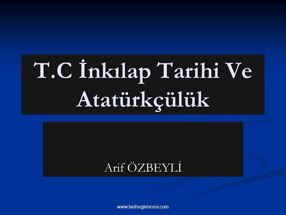 T.C İnkılap Tarihi Ve Atatürkçülük