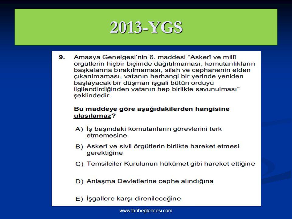 2013-YGS www.tariheglencesi.com